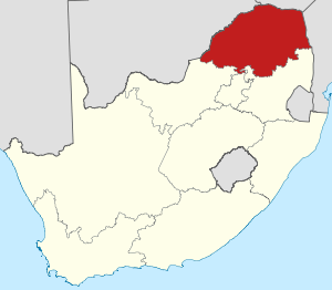 Map of South Africa with Limpopo highlighted.svg