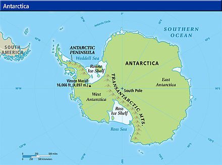 Antarctic Peninsula - Wikiwand