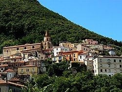 Skyline of Maratea