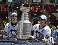 Marc-André Fleury, the Stanley Cup, and Sidney Crosby (3637923651).jpg