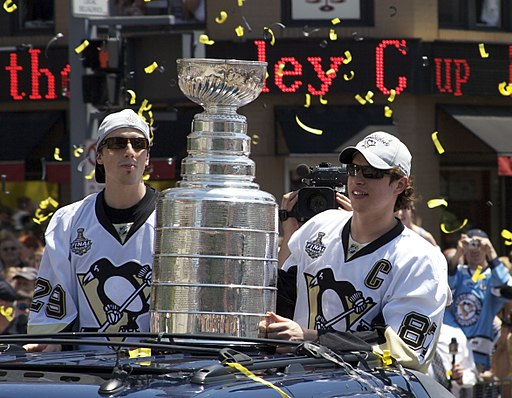 Marc-André Fleury, the Stanley Cup, and Sidney Crosby (3637923651)