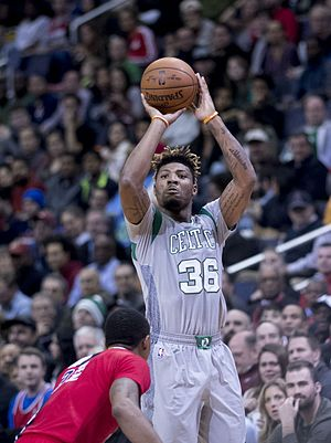 Marcus Smart - Smart with the Celtics in January 2017