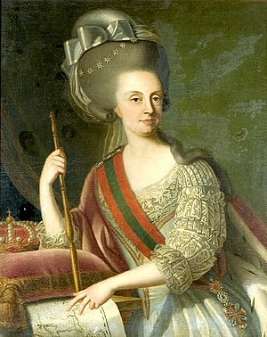 Transfer of the Portuguese Court to Brazil - Queen Maria I of the United Kingdom of Portugal, Brazil and the Algarves (reigned 1777–1816)