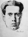 Marian Ruzamski - Portret własny, Oświęcim 1943-45.png