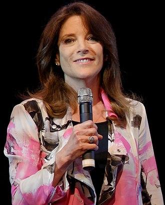 Marianne Williamson - Williamson campaigning in 2014