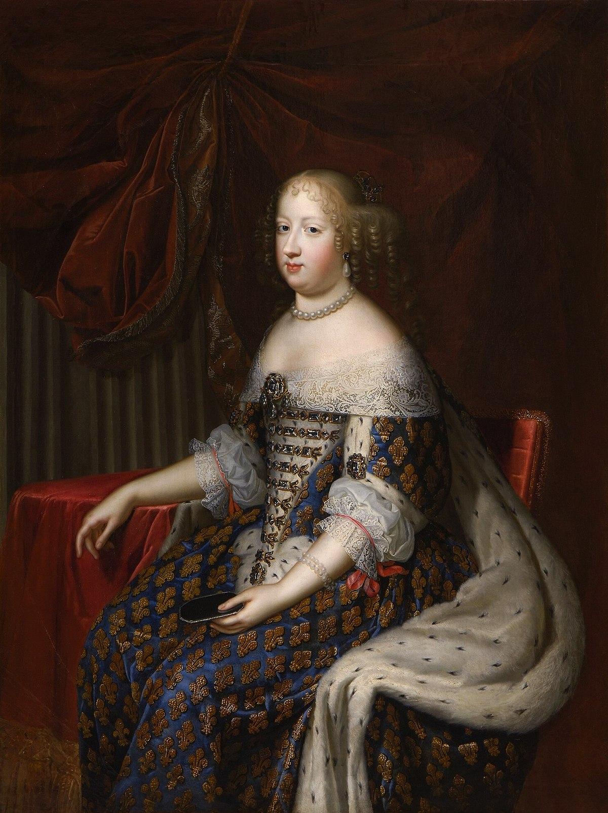 Marie-Thérèse d'Autriche (1638-1683) — Wikipédia