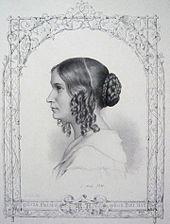 Marie Hand, 1.Mai 1841, Lithografie (Quelle: Wikimedia)