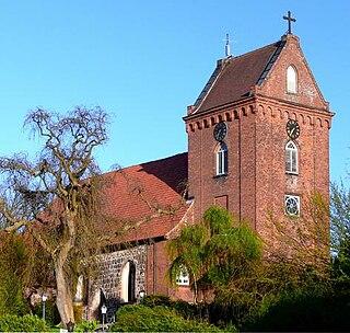 Schönkirchen Place in Schleswig-Holstein, Germany
