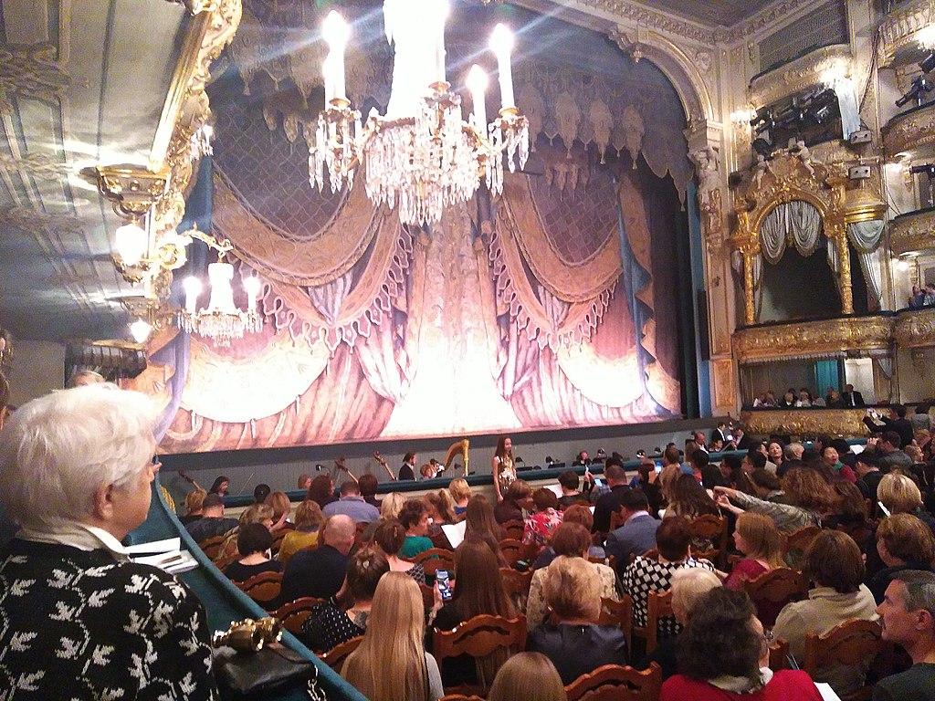 Mariinsky Theatre interior October 2019