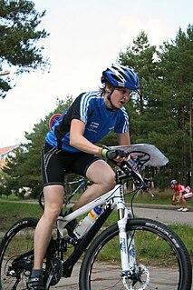 Marika Hara Finnish mountain bike orienteering competitor
