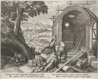 History of San Marino - San Marino is named after the Christian stonemason Saint Marinus, who created a mountainside colony to escape persecution