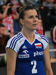 Mariola Zenik 01 - FIVB World Championship European Qualification Women Łódź January 2014.jpg