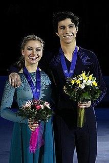 Marjorie Lajoie Canadian ice dancer