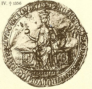 Margaret II, Countess of Hainaut 14th century Holy Roman Empress