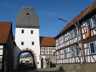 Hammersbach - Untertor of Marköbel
