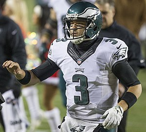 Mark Sanchez - Sanchez with the Philadelphia Eagles in 2014