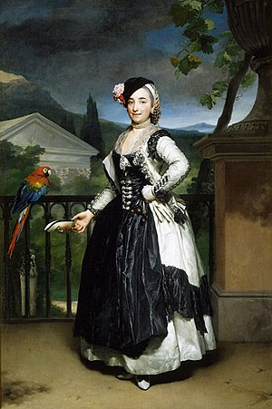 1774 in Spain - Marquesa Llano