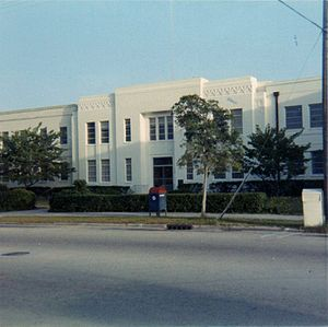 Old Martin County Courthouse - Martin County Courthouse in 1969