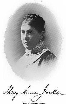 Mary Anna Jackson Wikipedia