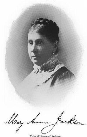 Mary Anna Jackson - Image: Mary Anna Jackson (1895)