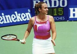 Winnares in het enkelspel, Mary Pierce