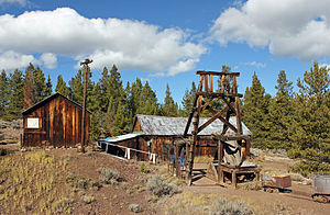 "Colorado Silver Boom - The Matchless Mine in Leadville, originally owned by Horace Tabor, known as""The Silver King""."