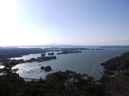 松島四大観 大高森より松島湾を望む