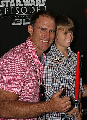 Matthew Hayden - Matthew Hayden at Star Wars: Episode 1 in 2012