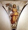 Matteo rosselli, angelo con fiori, 1615 ca., da s.m. maddalena de' pazzi, 02.jpg