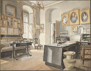 A Study Interior at St. Polten