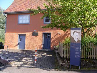 Matthias Erzberger - Erzberger's birthplace in Buttenhausen is now a small museum.
