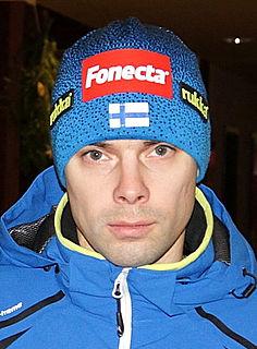Matti Hautamäki Finnish ski jumper