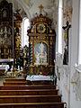 Mauerstetten - St. Vitus - Südlicher Seitenaltar.JPG