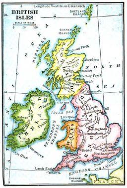 Maury Geography 099D British Isles