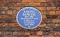 Mayer plaque, Pennant House, Bebington.jpg