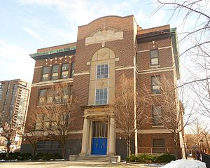 Chinatown, Philadelphia - General George A. McCall School in Society Hill serves Chinatown residents