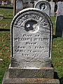 McClure (Jane Wilson), Lebanon Church Cemetery, 2015-10-23, 01.jpg