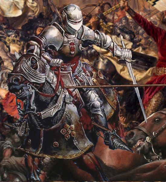 File:Medieval knight on horse in battle.jpg