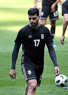Mehdi Taremi at Iran training before Morocco match.jpg