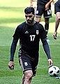Mehdi Taremi at Iran training before Morocco match.jpg