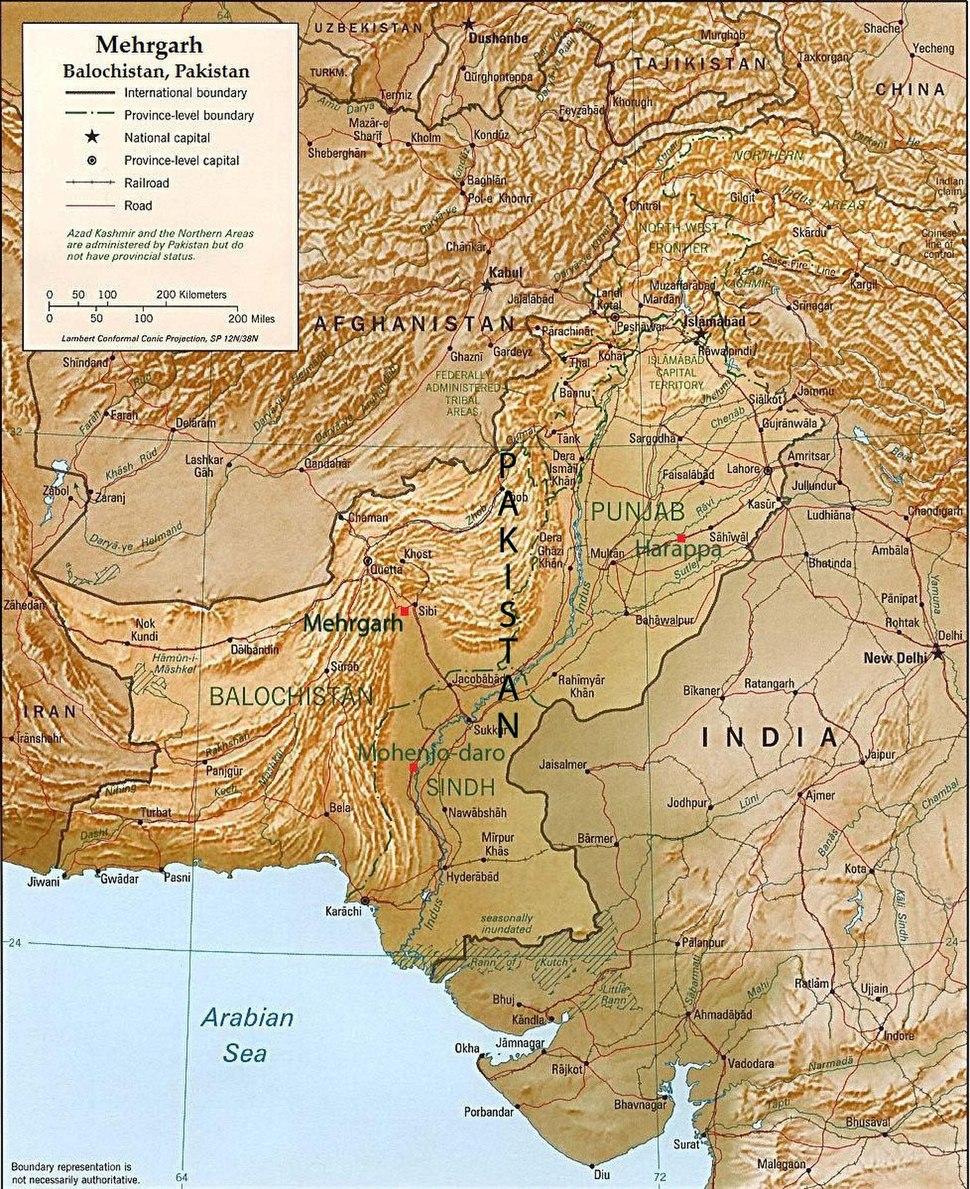 Mehrgarh pakistan rel96