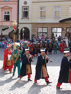Turkish Zurna in Ottoman band