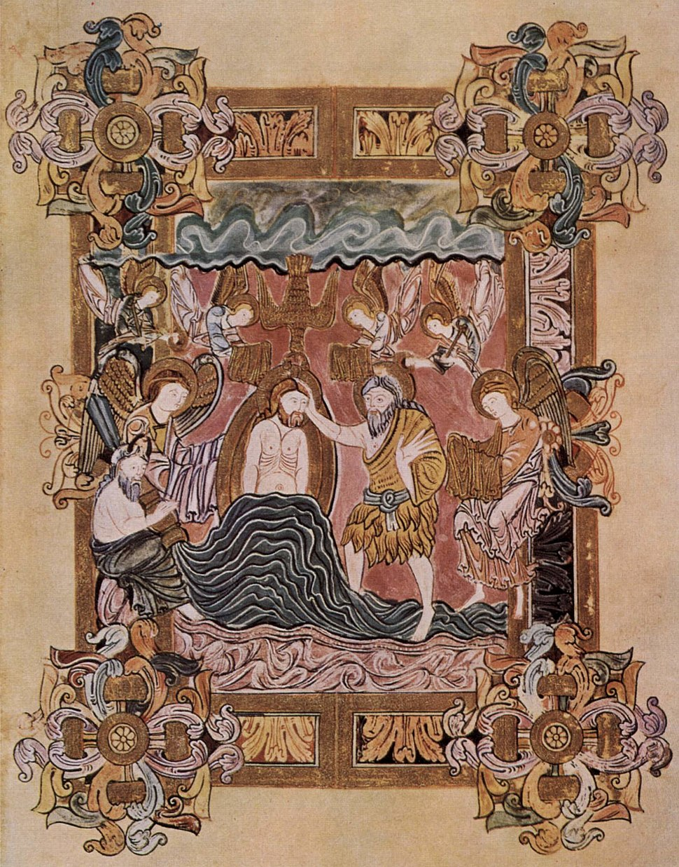 Meister des Benedictionale des Heiligen Aethelwold 001