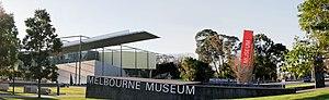 Denton Corker Marshall - Image: Melbourne museum exterior panorama