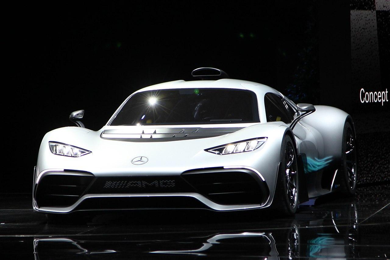 Der Mercedes-AMG Project One auf der IAA 2017