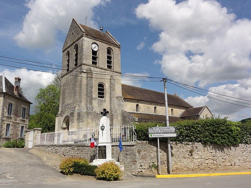 Merlieux-et-Fouquerolles (Aisne) église