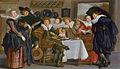 Merry company, by Dirck Hals.jpg