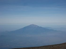 Meru from Kilimanjaro summit.jpg