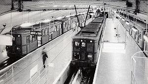 Porte d'Auteuil (Paris Métro) - Image: Metro de Paris Ligne 10 Terminus Porte d Auteuil