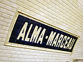 Metro de Paris - Ligne 9 - Alma - Marceau 03.jpg